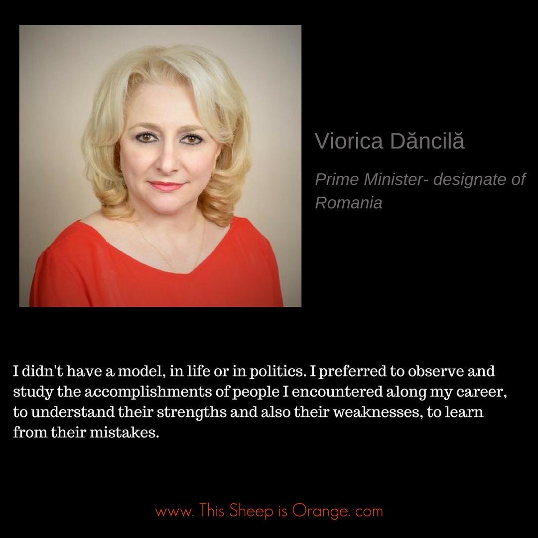 Viorica Dancila_this sheep is orange_women leadership