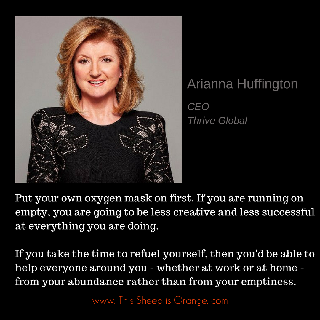 arianna huffington_this sheep is orange_women leadership