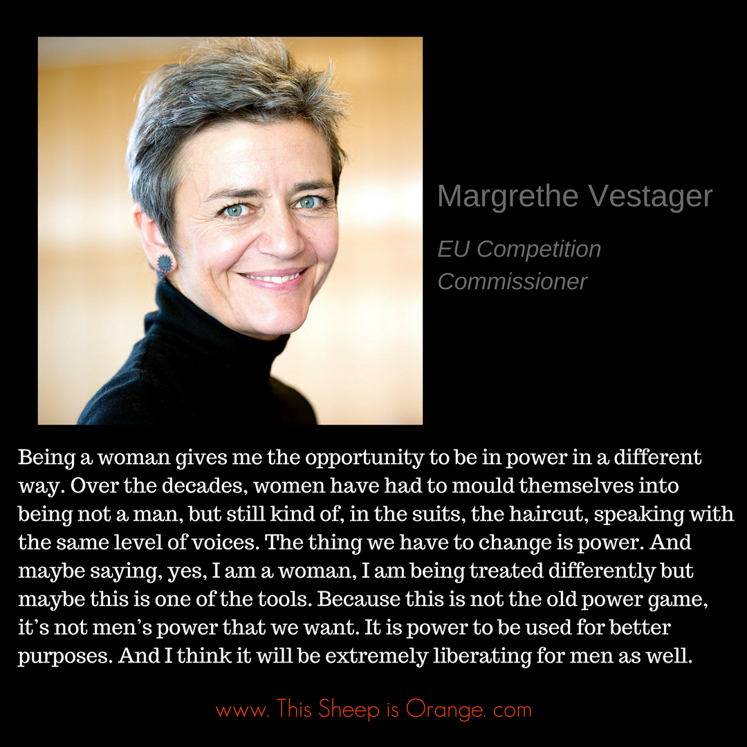 Margrethe Vestager_this sheep is orange_women leadership