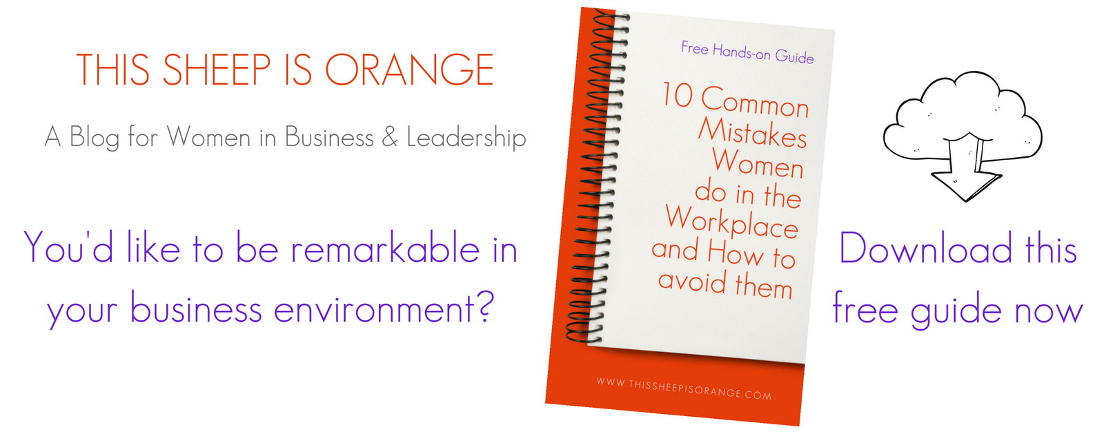 download the free guide 10 common mistakes women do in the workplace and how to avoid them