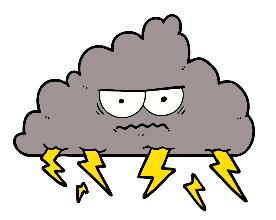 worrying cloud