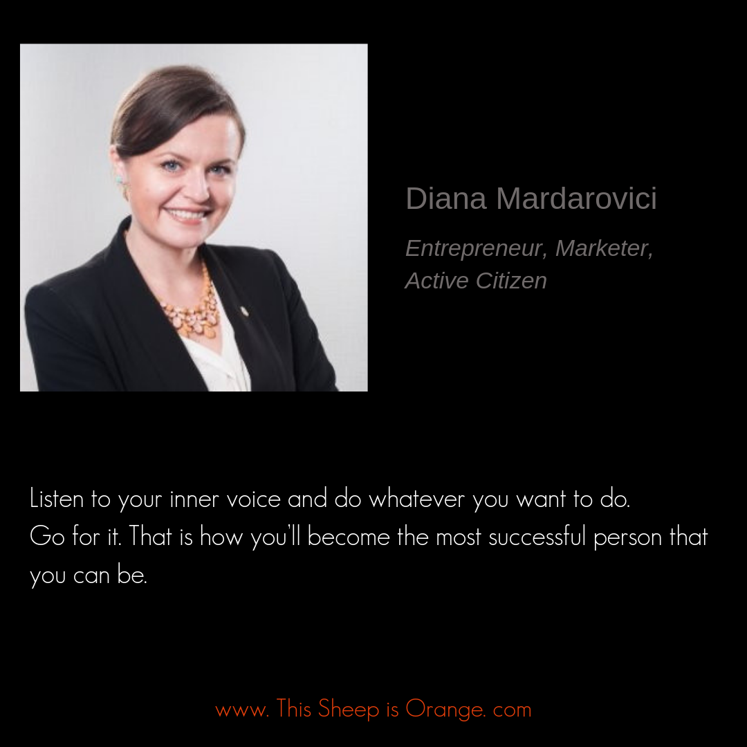 Diana Mardarovici active citizen quote for this shep is orange blog