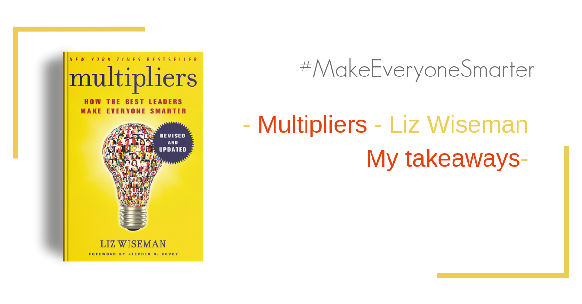 book cover of Multipliers by Liz Wiseman