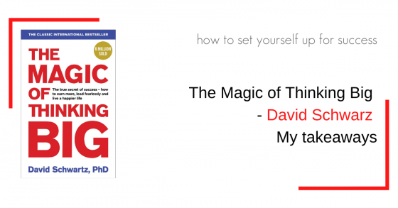 book cover of the magic of thinking big