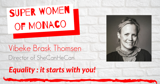 Vibeke Brask Thomsen guest of the podcast superwomen of Monaco